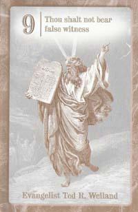The Ninth Commandment - Mission to Israel